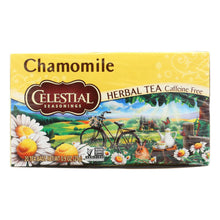 Load image into Gallery viewer, Celestial Seasonings Herbal Tea - Chamomile - Caffeine Free - Case Of 6 - 20 Bags