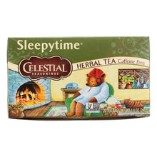 Load image into Gallery viewer, Celestial Seasonings Herbal Tea - Sleepytime - Caffeine Free - 20 Bags