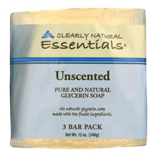 Load image into Gallery viewer, Clearly Natural Bar Soap - Unscented - 3 Pack - 4 Oz