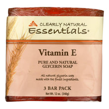 Load image into Gallery viewer, Clearly Natural Bar Soap - Vitamin E - 3 Pack - 4 Oz