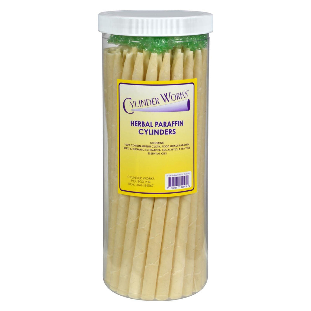 Cylinder Works - Paraffin Candles - Herbal - 50 Pack