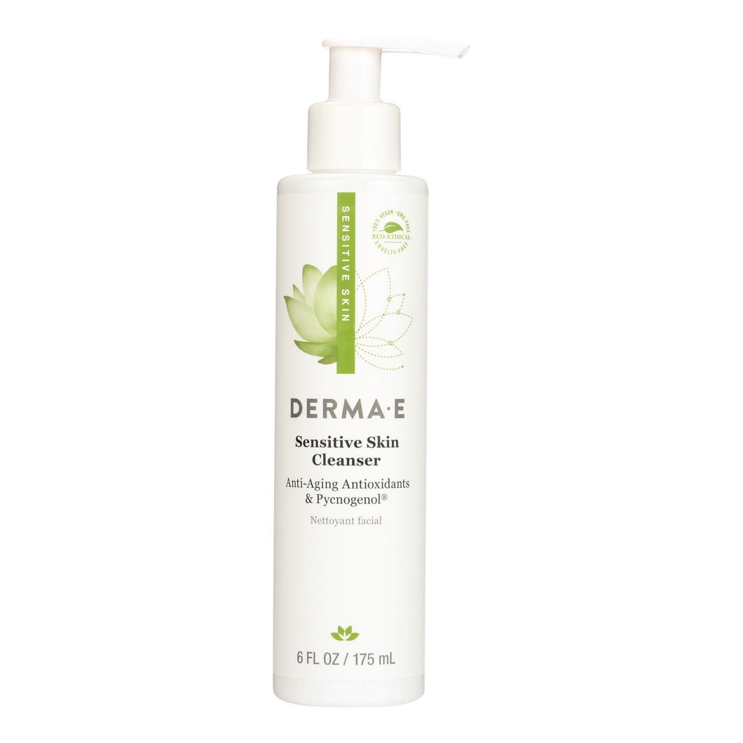 Derma E - Soothing Cleanser With Pycnogenol - 6 Fl Oz.
