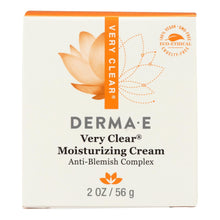 Load image into Gallery viewer, Derma E - Very Clear Problem Skin Moisturizer - 2 Fl Oz.