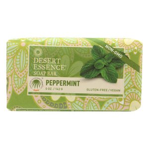 Desert Essence - Bar Soap - Peppermint - 5 Oz