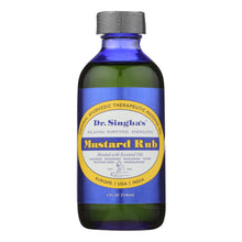 Load image into Gallery viewer, Dr. Singha's Mustard Rub - 4 Fl Oz