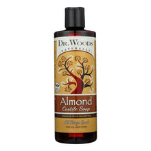 Load image into Gallery viewer, Dr. Woods Shea Vision Pure Almond Castile Soap With Organic Shea Butter - 16 Oz