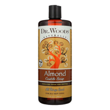 Load image into Gallery viewer, Dr. Woods Shea Vision Pure Castile Soap With Organic Shea Butter Almond - 32 Fl Oz