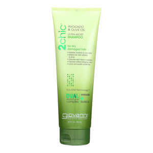 Giovanni Hair Care Products Shampoo - 2chic Avocado And Olive Oil - 8.5 Oz