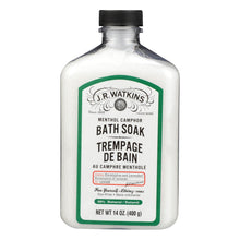 Load image into Gallery viewer, J.r. Watkins Menthol Camphor Bath Soak - 14 Oz
