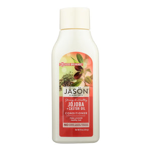 Jason Pure Natural Long And Strong Conditioner Jojoba - 16 Fl Oz