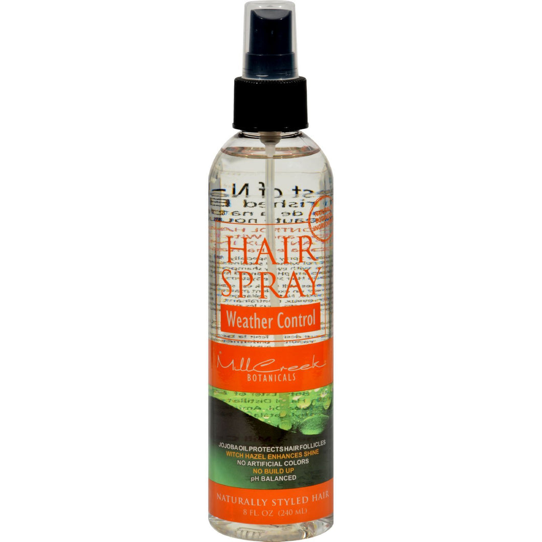 Mill Creek Hair Spray Weather Control - 8 Fl Oz