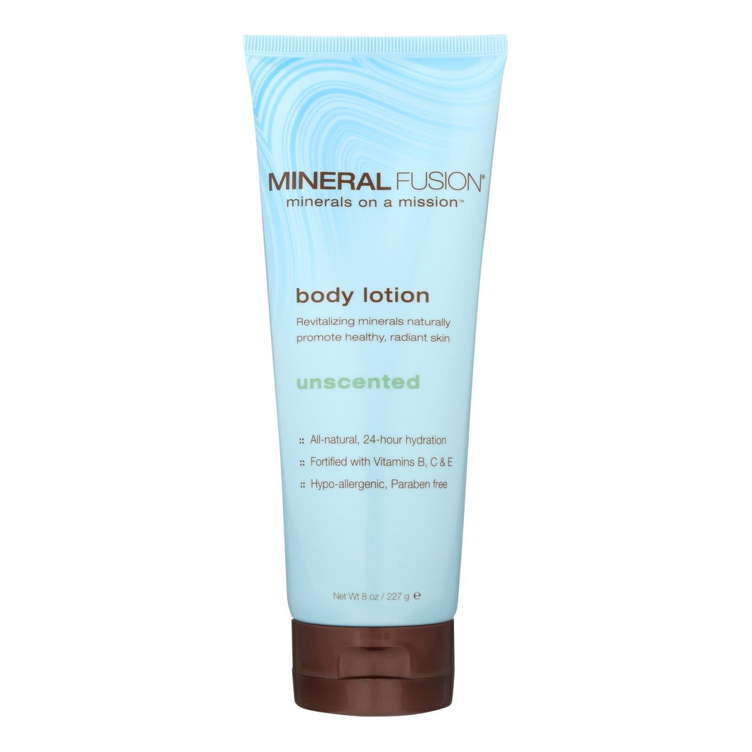 Mineral Fusion - Mineral Body Lotion - Unscented - 8 Oz.