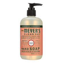Load image into Gallery viewer, Mrs. Meyer's Clean Day - Liquid Hand Soap - Geranium - Case Of 6 - 12.5 Oz