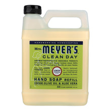 Load image into Gallery viewer, Mrs. Meyer's Clean Day - Liquid Hand Soap Refill - Lemon Verbena - Case Of 6 - 33 Fl Oz.