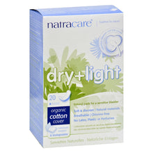 Load image into Gallery viewer, Natracare Dry And Light Individually Wrapped Pads - 20 Pack