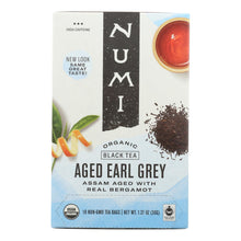 Load image into Gallery viewer, Numi Tea Organic Aged Earl Grey - Black Tea - 18 Bags