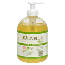 Load image into Gallery viewer, Olivella Face And Body Soap - 16.9 Fl Oz