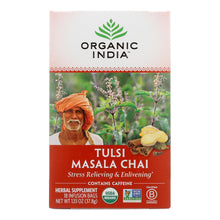 Load image into Gallery viewer, Organic India Tulsi Tea Chai Masala - 18 Tea Bags - Case Of 6