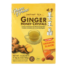 Load image into Gallery viewer, Prince Of Peace Ginger Honey Crystals - 10 Tea Bags