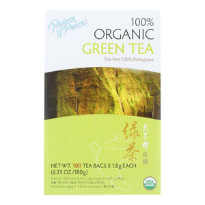 Prince Of Peace Organic Green Tea - 100 Tea Bags