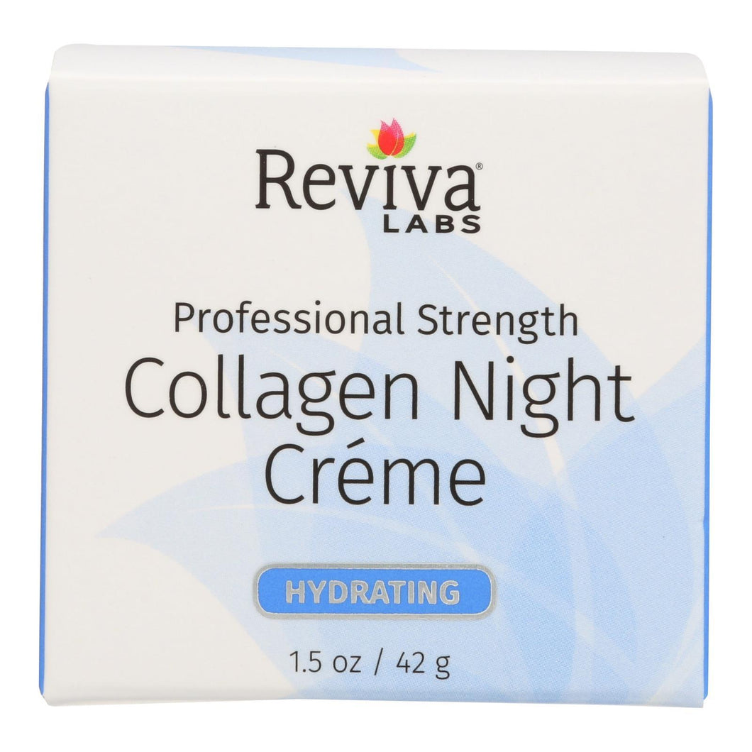 Reviva Labs - Collagen Night Cream - 1.5 Oz