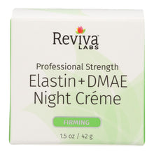 Load image into Gallery viewer, Reviva Labs - Elastin And Dmae Night Cream - 1.5 Oz