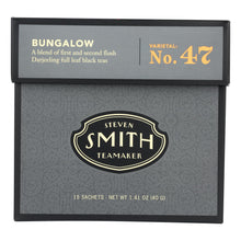 Load image into Gallery viewer, Smith Teamaker Black Tea - Bungalow - Case Of 6 - 15 Bags
