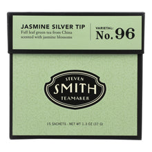 Load image into Gallery viewer, Smith Teamaker Green Tea - Jasmine Slvr Tp - Case Of 6 - 15 Bags