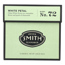Load image into Gallery viewer, Smith Teamaker White Tea - White Petal - 15 Bags