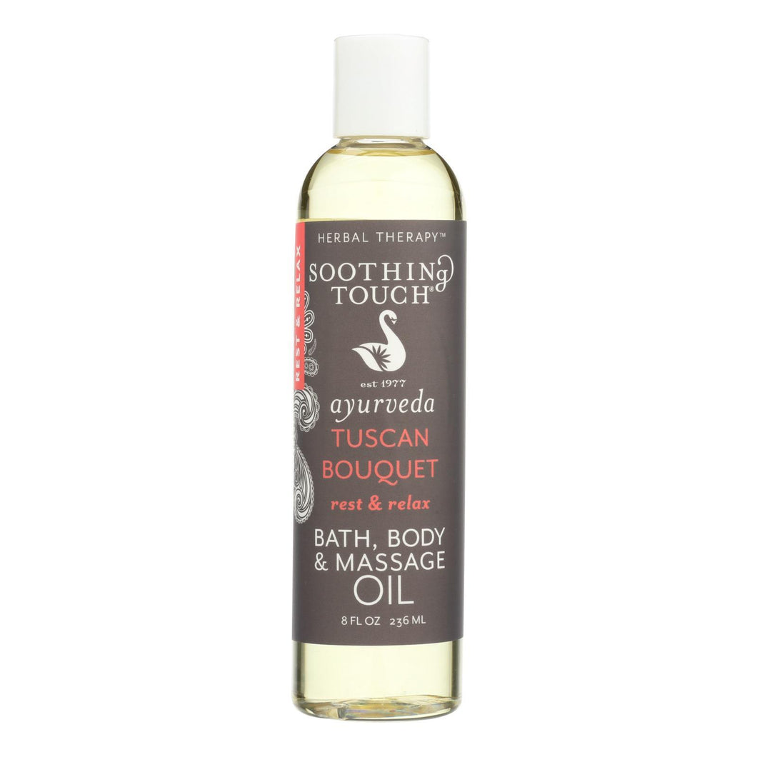 Soothing Touch Bath And Body Oil - Rest-relax - 8 Oz