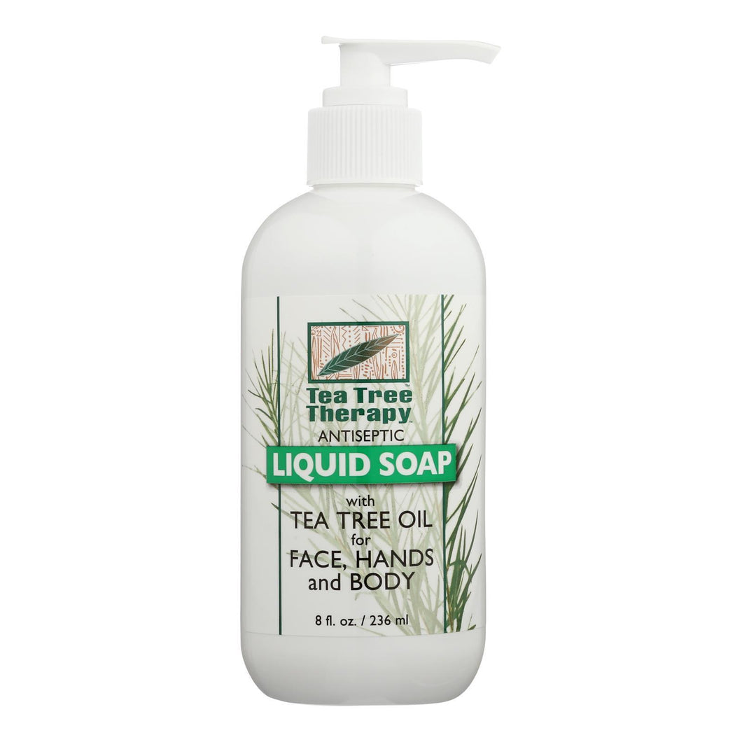 Tea Tree Therapy Antibacterial Liquid Soap With Tea Tree Oil - 8 Fl Oz