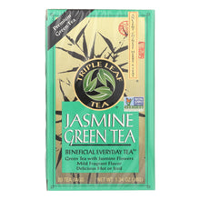 Load image into Gallery viewer, Triple Leaf Tea Jasmine Green Tea - 20 Tea Bags - Case Of 6
