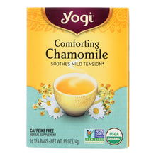 Load image into Gallery viewer, Yogi Organic Comforting Chamomile - 16 Tea Bags - Case Of 6