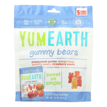 Load image into Gallery viewer, Yumearth Organics Organic Gummy Bear - Snack - Case Of 12 - 0.7 Oz.