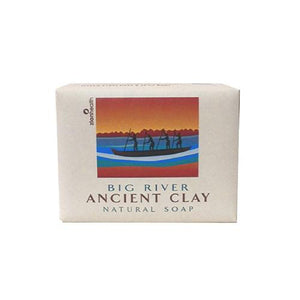 Zion Health Clay Bar Soap - Big River - 10.5 Oz