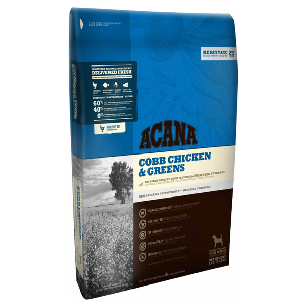 Acana Heritage Chicken & Greens Dog 17kg