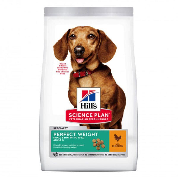 Hills Perfect Weight Small & Mini Adult Dog with Chicken 6kg