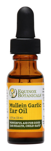 Mullein Garlic Ear Oil ½ oz