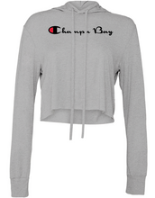 Load image into Gallery viewer, Champa Bay Cropped Hoodie