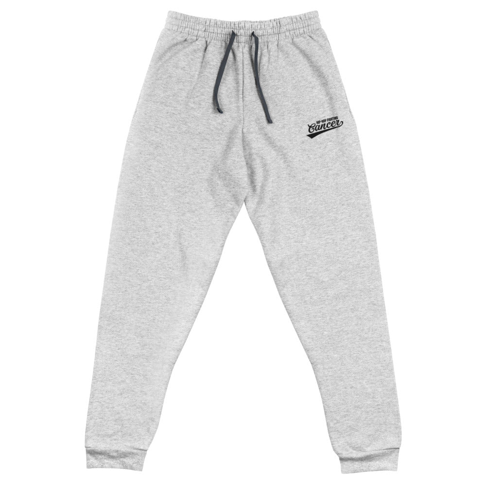 Hip Hop Fighting Cancer Joggers - Grey/Black