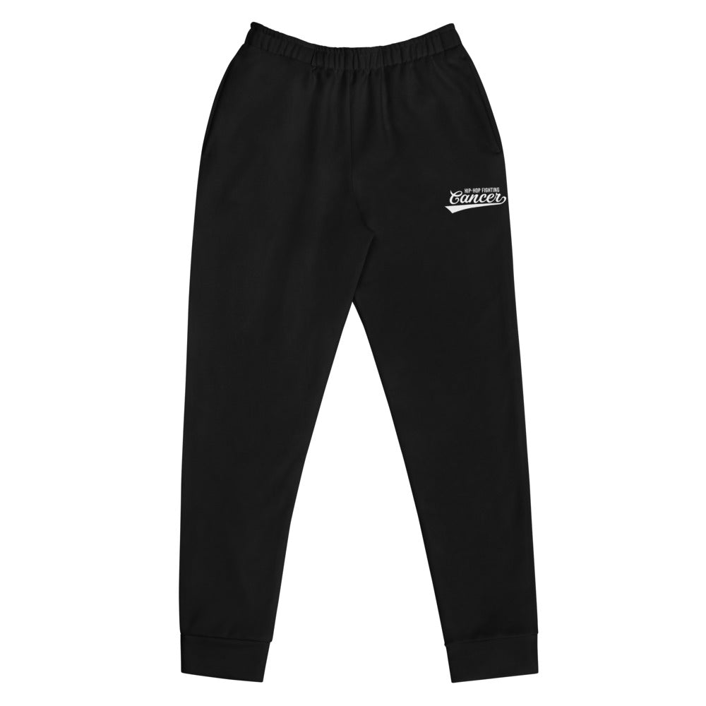 Hip Hop Fighting Cancer Women's Joggers - Black/White