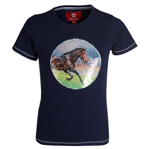 Red Horse T-shirt Caliber