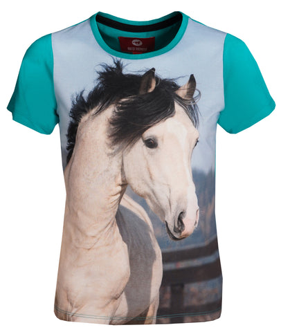 Red Horse T-shirt Horsy