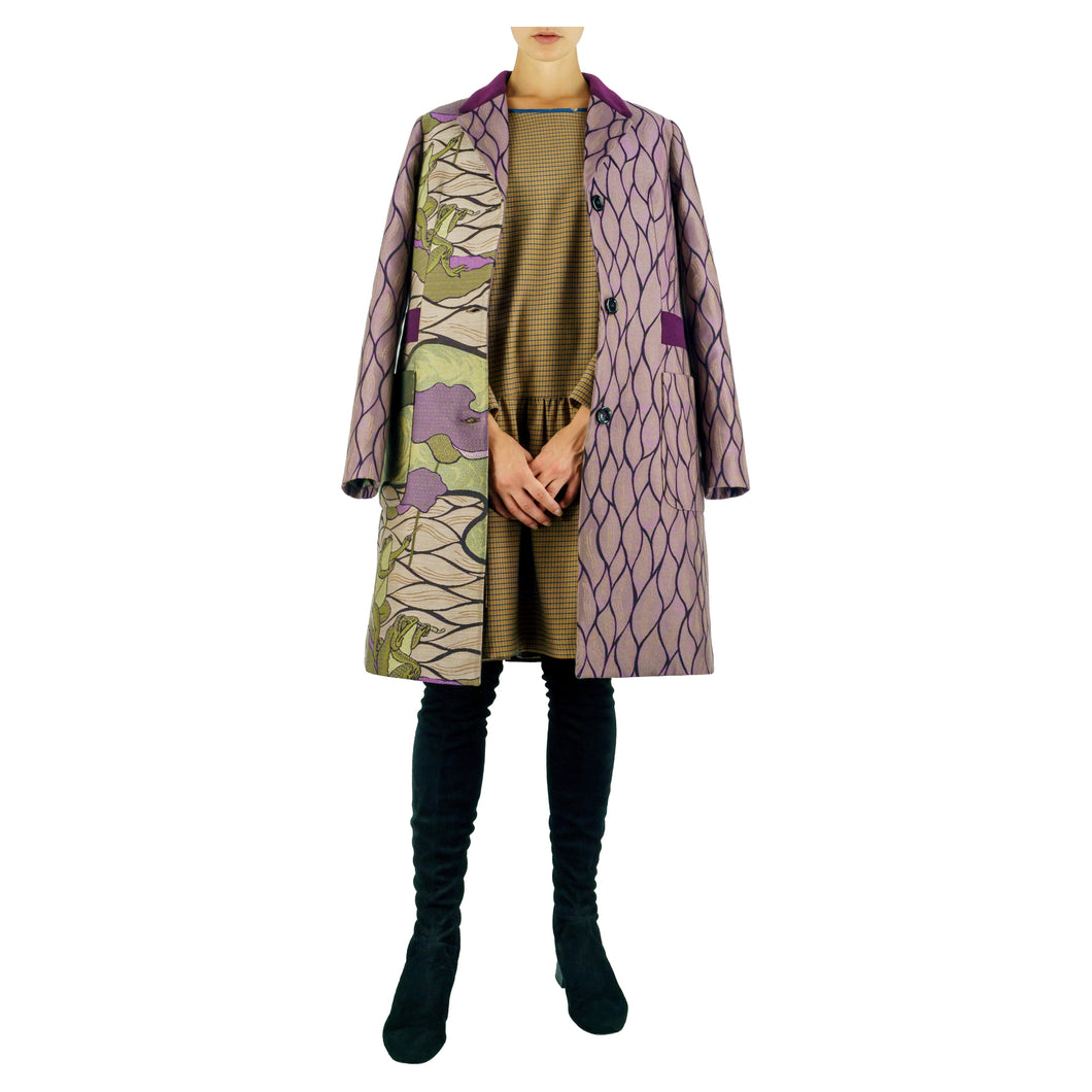 NM 231 - CAPPOTTO JAQUARD