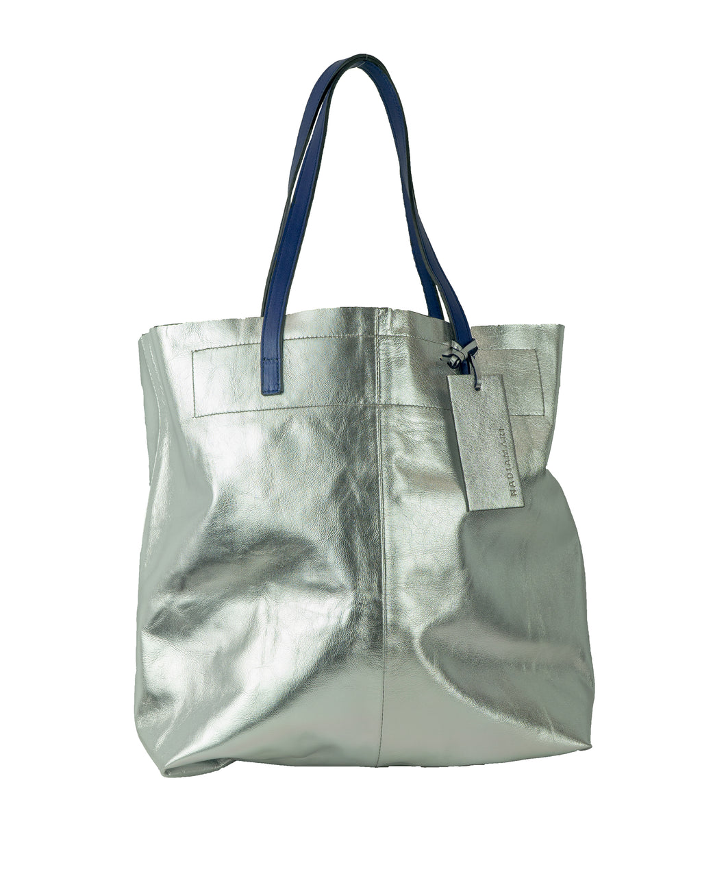 NM BAG02 SILVER - Shopper Media