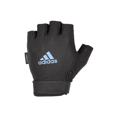 ESSENTIAL ADJUSTABLE GLOVES - BLUE - adidas fitness