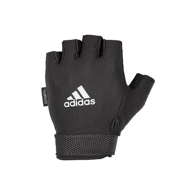 ESSENTIAL ADJUSTABLE GLOVES - WHITE - adidas fitness