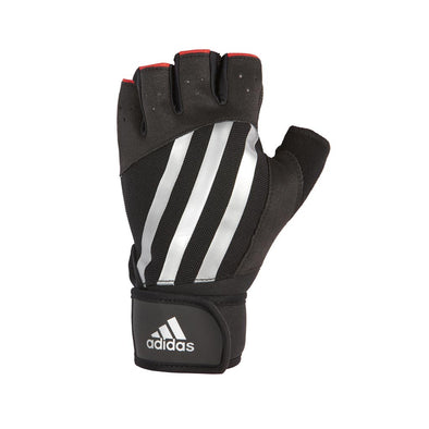 ELITE TRAINING GLOVES - SILVER - adidas fitness