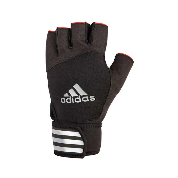 ELITE TRAINING GLOVES - RED - adidas fitness