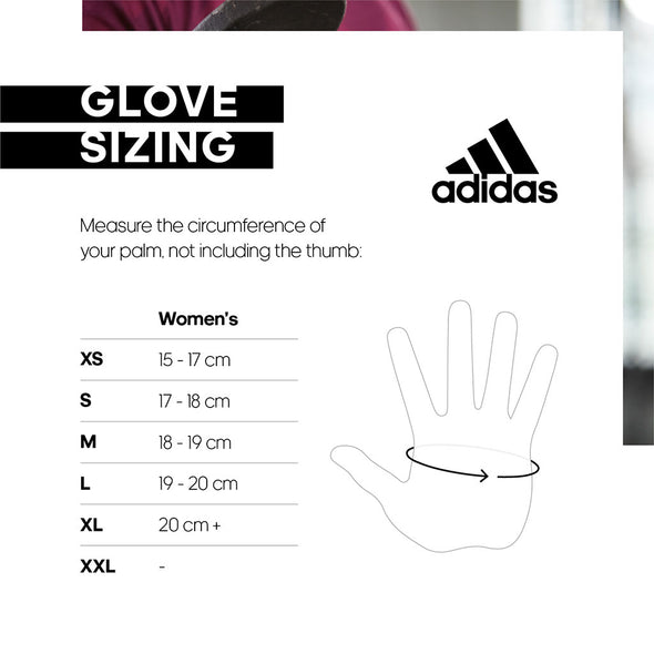 ESSENTIAL WOMENS GLOVE - GLORY PINK - adidas fitness